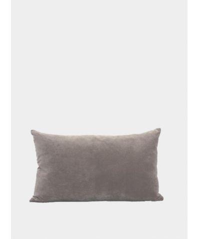 Misi Velvet Cushion - Taupe