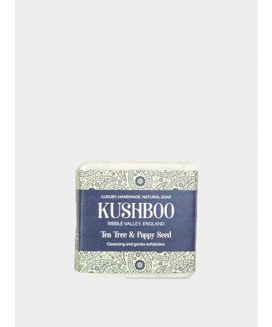 Tea Tree & Poppy Seed Soap