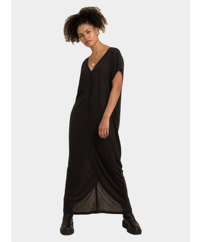 Kaftan Dress - Almost Black