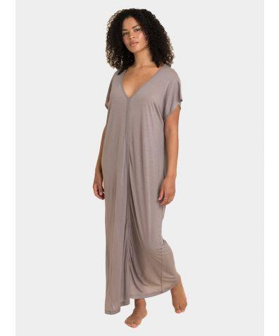Kaftan Dress - Stone