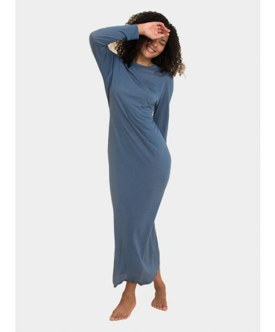Sweater Dress - Flattering Blue