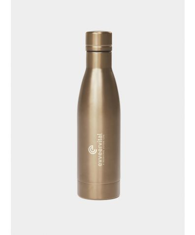 Thermal Water Bottle - Gold, 500ml
