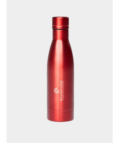 Thermal Water Bottle - Red, 500ml