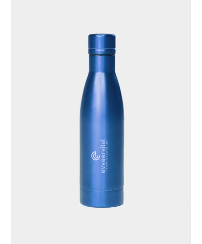 Thermal Water Bottle - Blue, 500ml