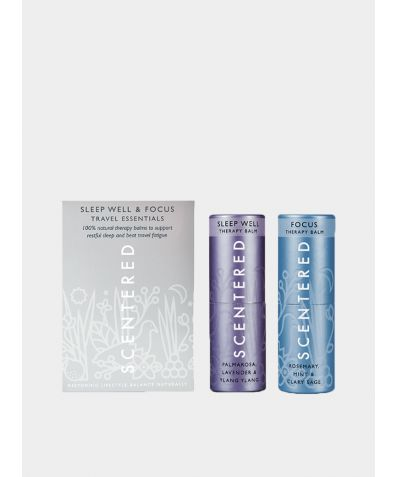 Travel Essentials Therapy Balm Duo