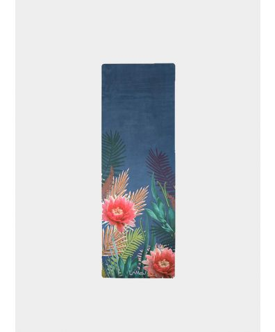Tropicana Placement - Indigo Yoga Mat