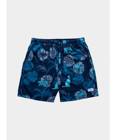 Mens Cotton Pyjama Shorts - The Tropics