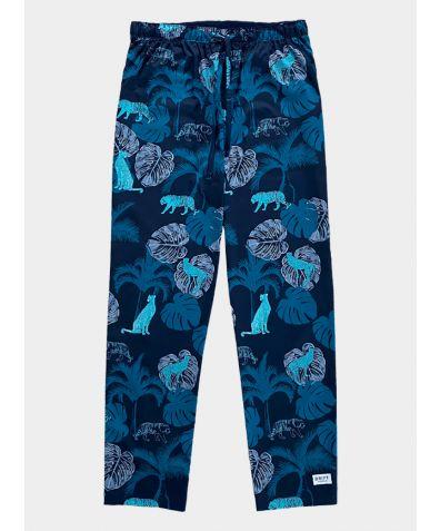 Mens Cotton Pyjama Trousers - The Tropics
