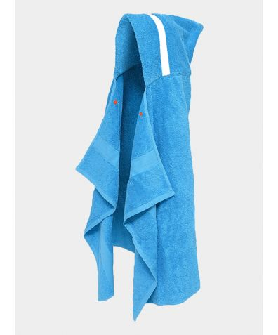 Hooded Cotton Towel - Light Blue