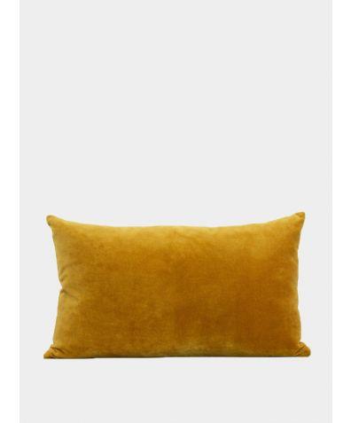 Misi Velvet Cushion - Turmeric