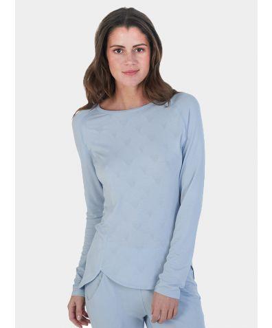 Women's Revolutionary High-Tech Nattwell® Long Sleeve Top - Ice Blue