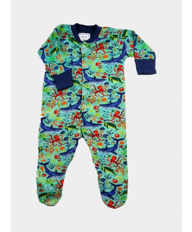 Cotton Babygrow - Under the Sea