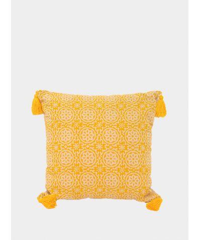 Hand Block Printed Cushion - Uri