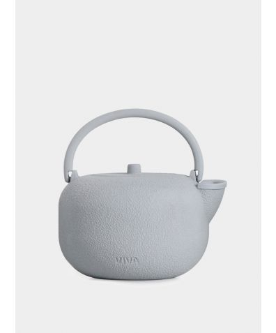 Saga Teapot Casted Iron 0,8 litre - Soft Blue