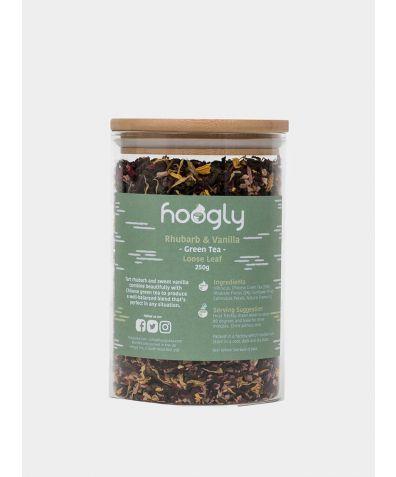 Rhubarb & Vanilla - Green Tea, 250g