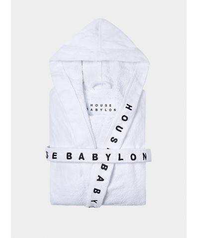 Organic Turkish Bathrobe - White
