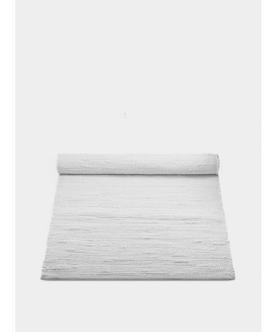 Cotton Rug - White