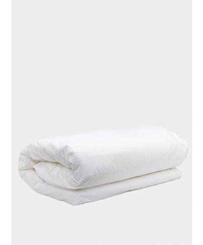 500 Thread Count Cotton Sateen Duvet Cover - White