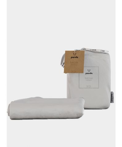 Bamboo Duvet Cover - Pure White