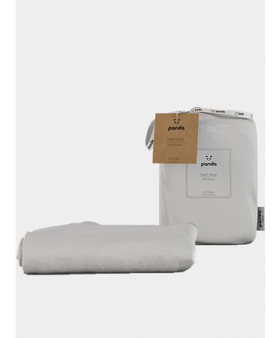 Bamboo Fitted Sheet - Pure White