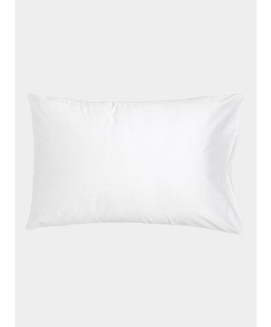 500 Thread Count Cotton Sateen Pillowcases (Pair) - White