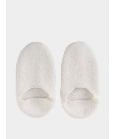 Snug Woollen Sock Slipper - White