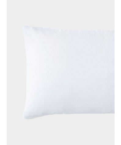 French Linen Housewife Pillowcase - Classic White