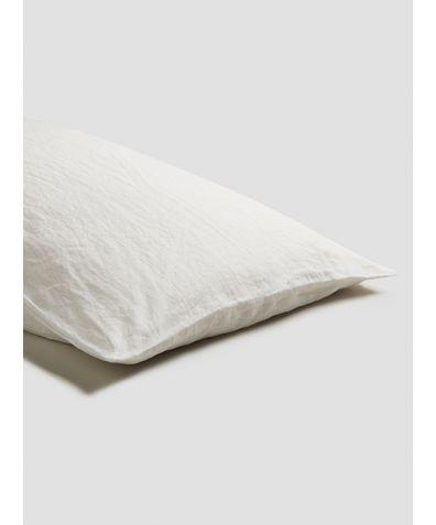 Linen Pillowcases (Pair) - White