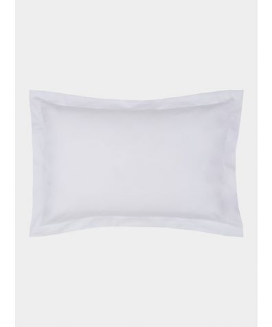 Excellence 600 Thread Count Egyptian Cotton Oxford Pillowcase - White