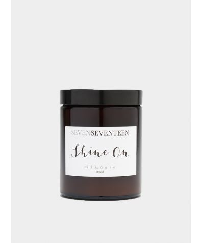 Shine On / Wild Fig & Grape Candle