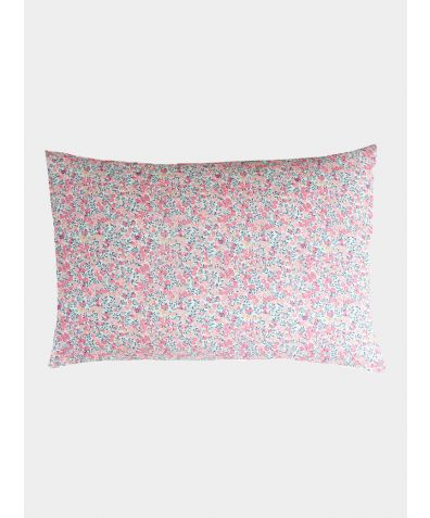 Liberty Print Pillowcase - Wiltshire Pink