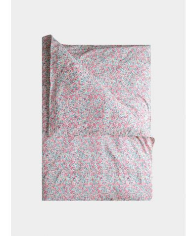 Liberty Print Duvet Cover - Wiltshire Berry Pink