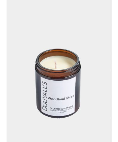 Eco-Soy Wax Scented Candle - Woodland Musk