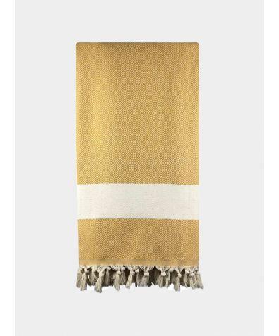 Damla Blankets - Mustard