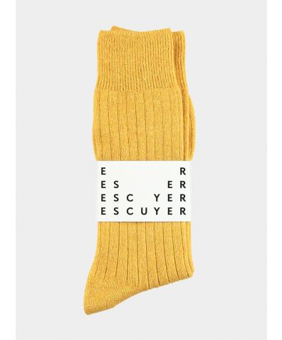Cashmere Socks - Yellow