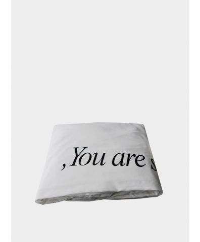 Cotton Sateen Fitted Sheet - You Are So Special