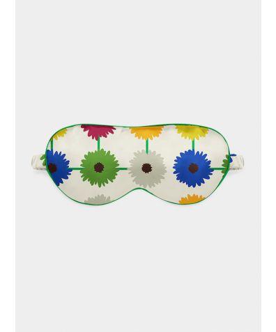 Silk Eye Mask - Multi Bloom Light