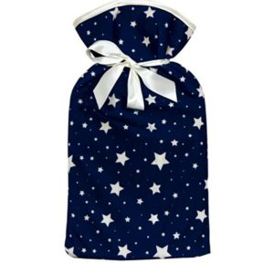 Catherine & Jean's Velvet Luxury Hot Water Bottle - Star