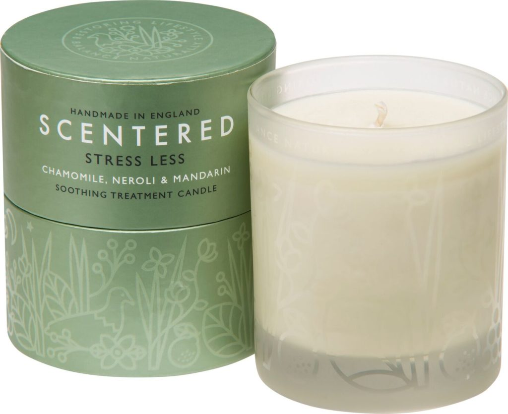 de-stress home candle