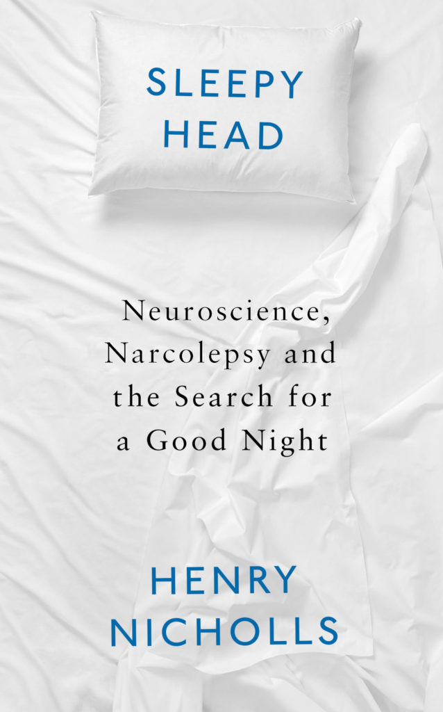 "Book Cover of ""Sleepyhead"" by Henry Nicholls"