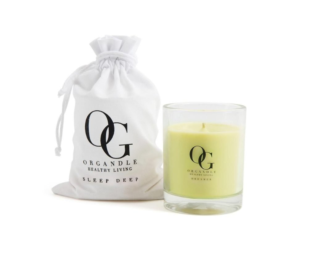 organdle dreamer sleep deep candle that can help relieve your stress or worry