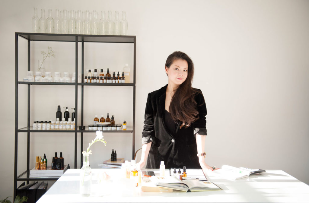 Picture of Ada Ooi, founder of 001 Skincare London