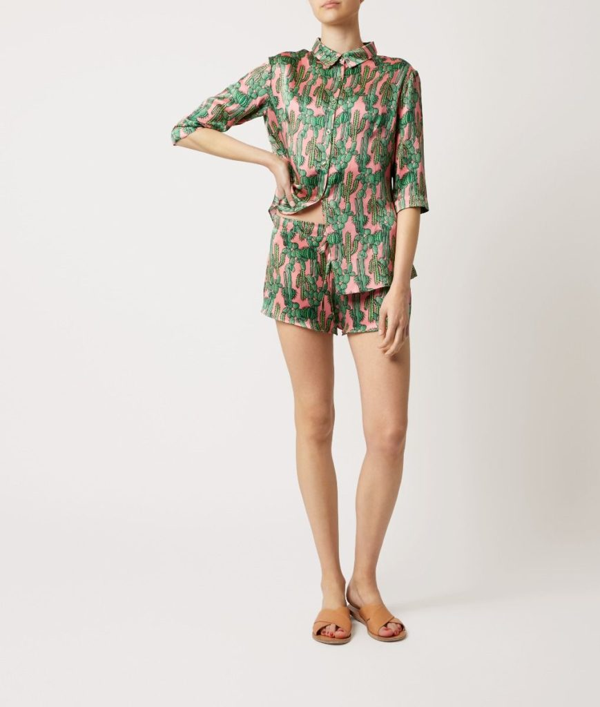 Pink Cactus Wendy Pyjama Short - Set/Separate