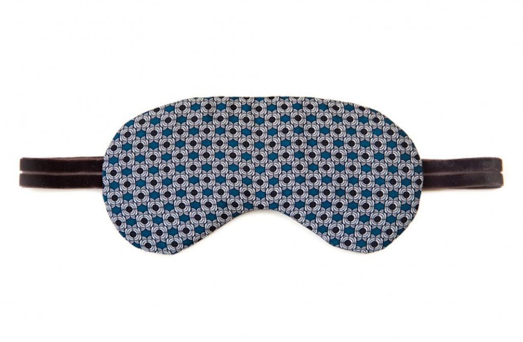 Luxury Gift Boxed Silk Sleep Mask - Electric Dots from VUJ VUJ