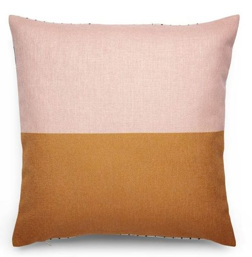 Deco Collective - Reversible Cushion Cover - Blush