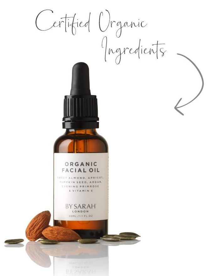 Organic & Vegan Facial Oil, 30ml