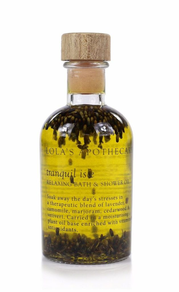 Lolas Apothecary - Tranquil Isle Relaxing Bath & Shower Oil