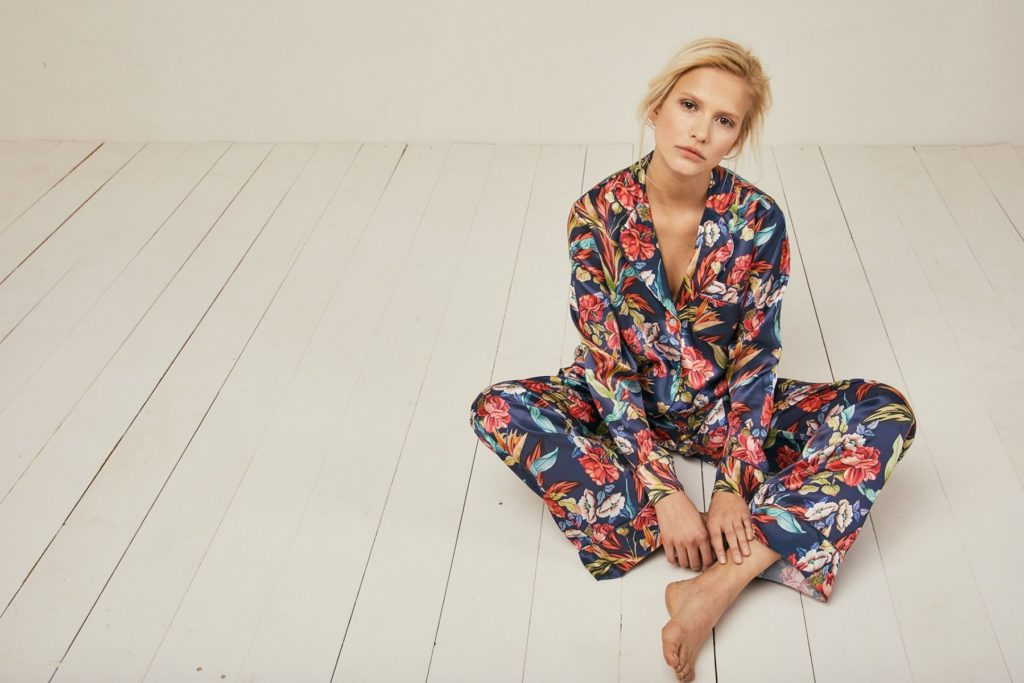 Elisabetha Urban Jungle Silk Pyjama Trouser - Set/Separate