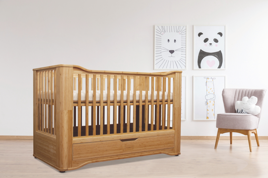 Organic Bamboo Cot Bed - S1
