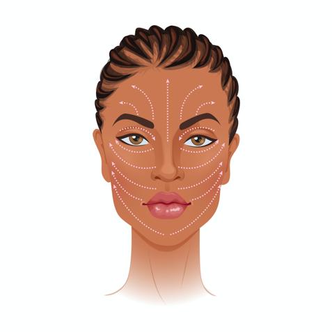 Face massage technique